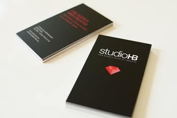 Studio HB, cartes de visite