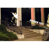 OAKLEY `05 Andrew Pott skateboard poster new & MINT!!