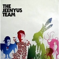 JEENYUS 2003 vintage defunct team cool new snowboard poster ~MINT~NEW old stock!