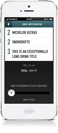 Tab Sprint Mobile App Screenshot 3