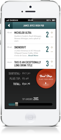 Tab Sprint Mobile App Screenshot 2
