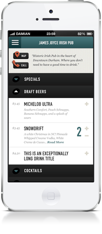Tab Sprint Mobile App Screenshot 1