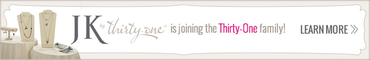 JK by Thirty-One is joining the Thirty-One family!