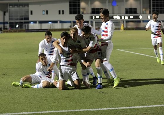 Us_u-20s_celebrate_-_vs_costa_rica_-_11-16-18