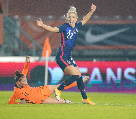 US women's national team defeats Netherlands in first match since March