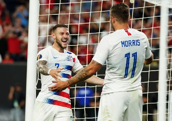 Paul_arriola_and_jordan_morris_-_asn_top_-_usmnt_vs_t_t_at_2019_gold_cup_-_celebrate_-_6-23-19