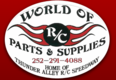 Visit hobby shop World of R/C Parts