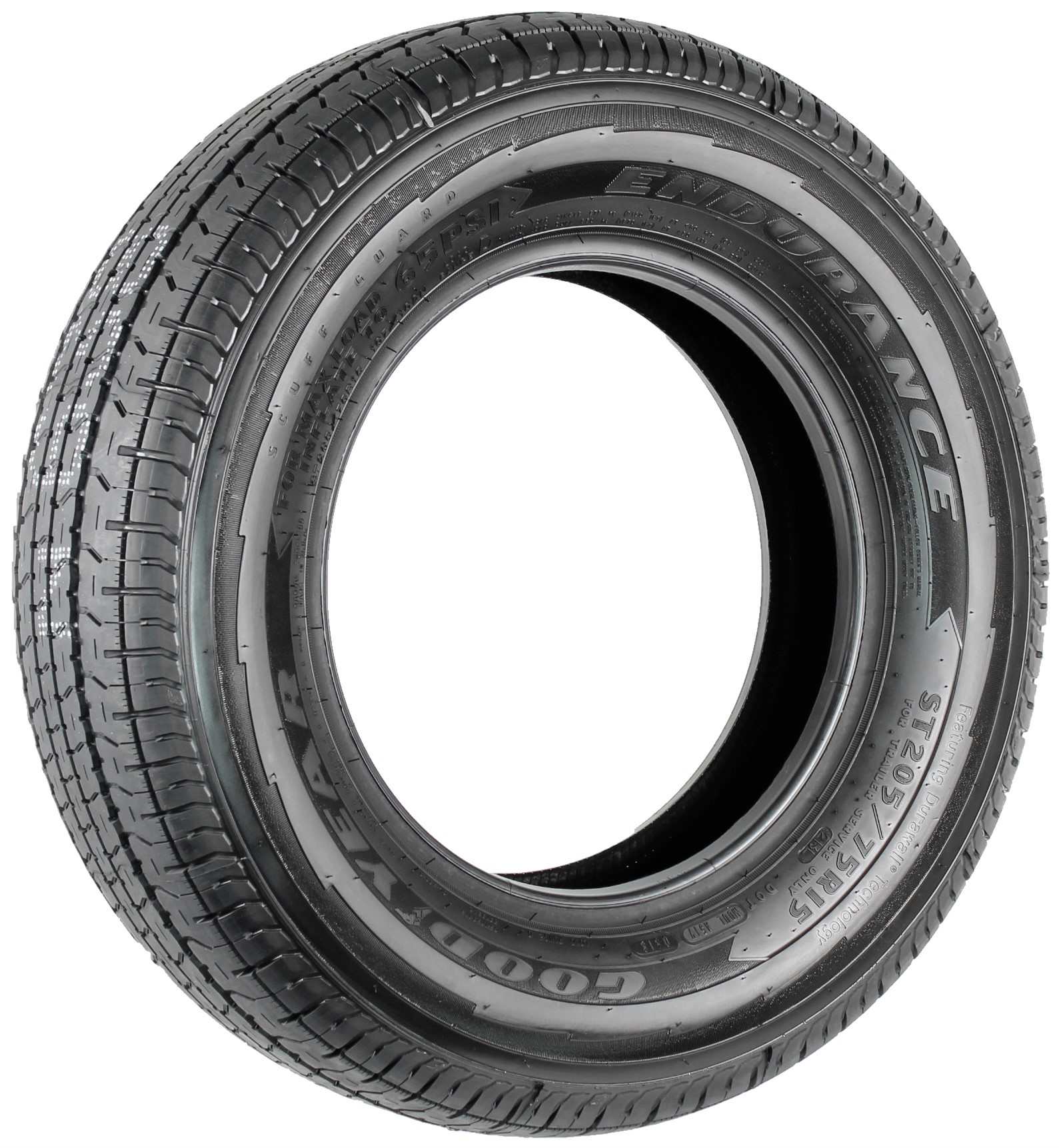 Goodyear Endurance ST205/75R15 LRD Radial Trailer Tire Image