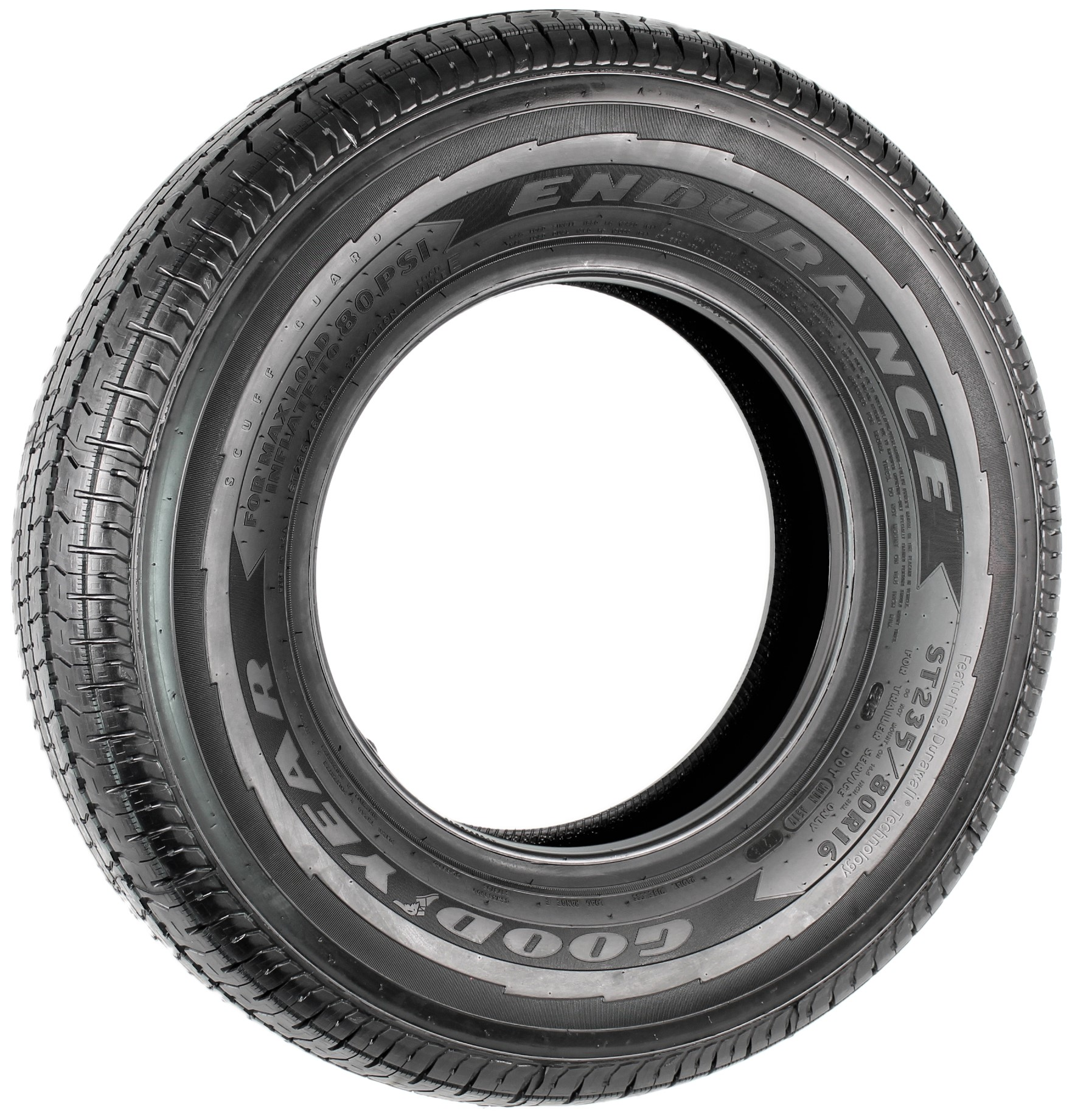 Goodyear Endurance ST235/80R16 LRE Radial Trailer Tire Image
