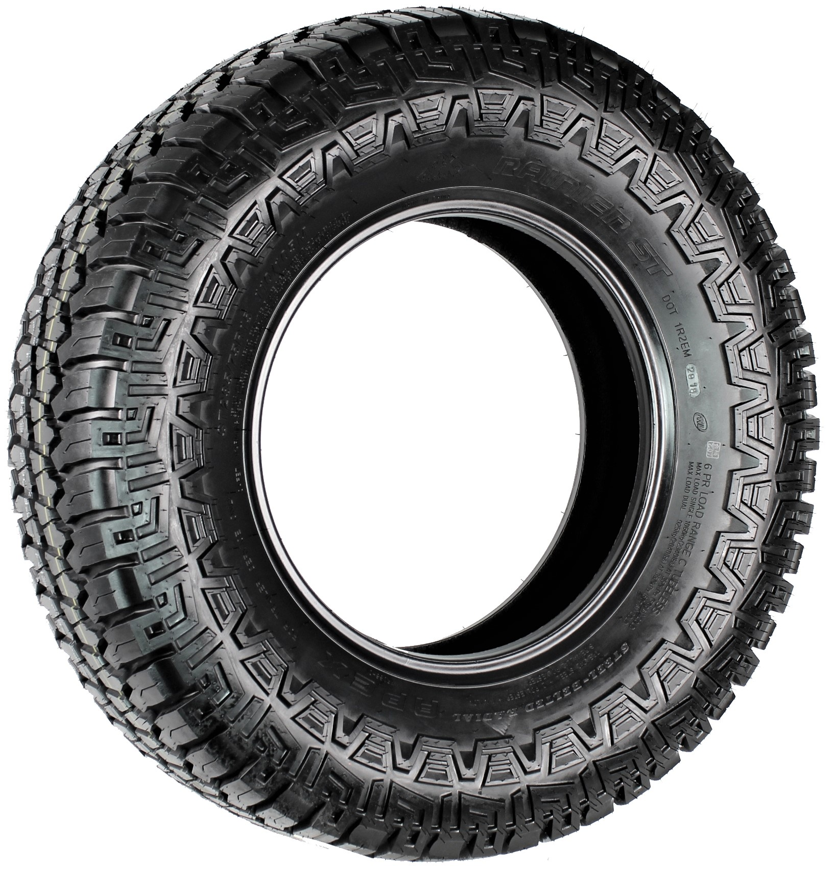 Rainier Apex ST235/75R15 LRC Off-Road Radial Trailer Tire Image