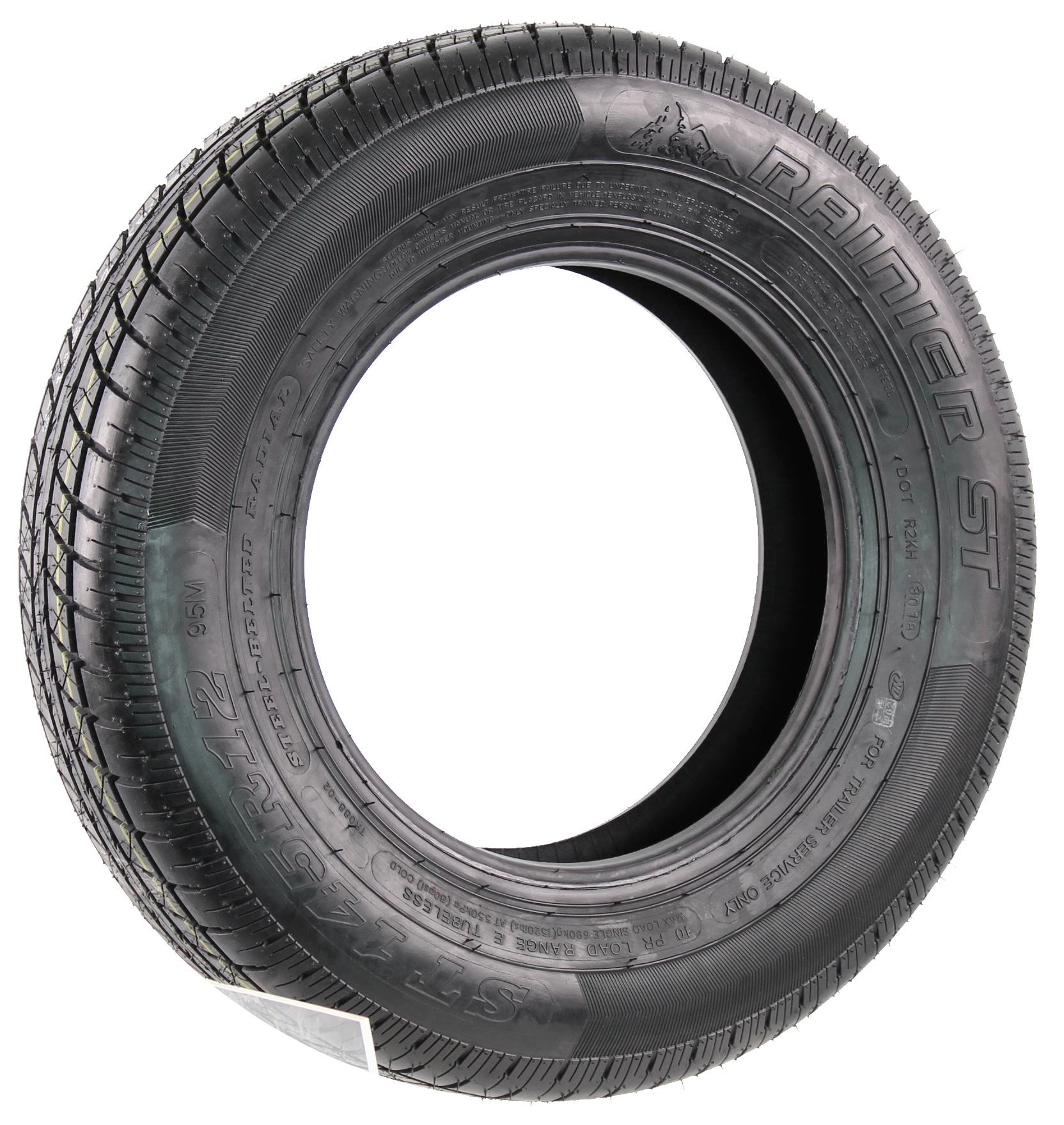 Rainier ST145R12 LRE 10-Ply Radial Trailer Tire Image