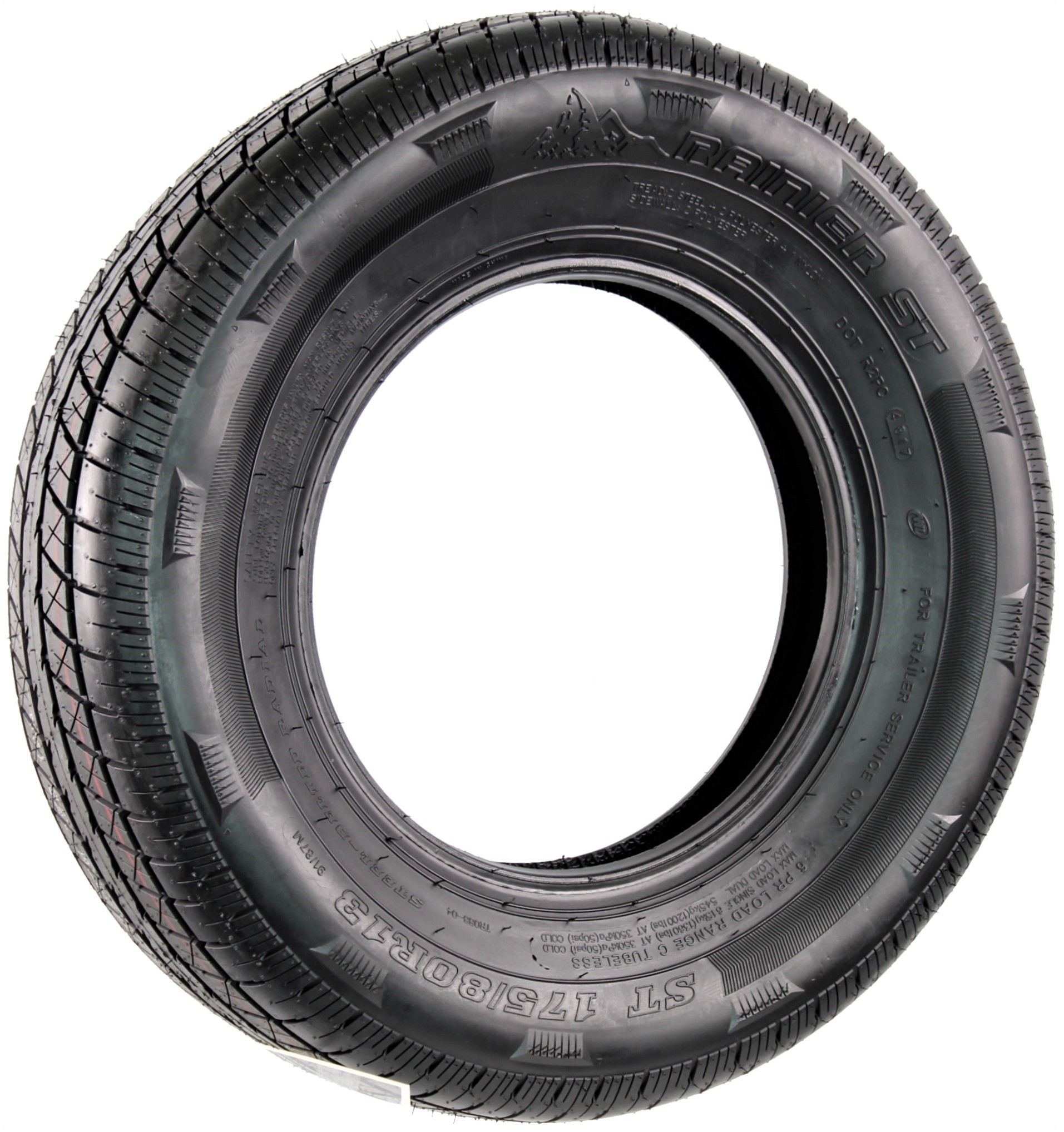 Rainier ST175/80R13 LRC 6-Ply Radial Trailer Tire Image