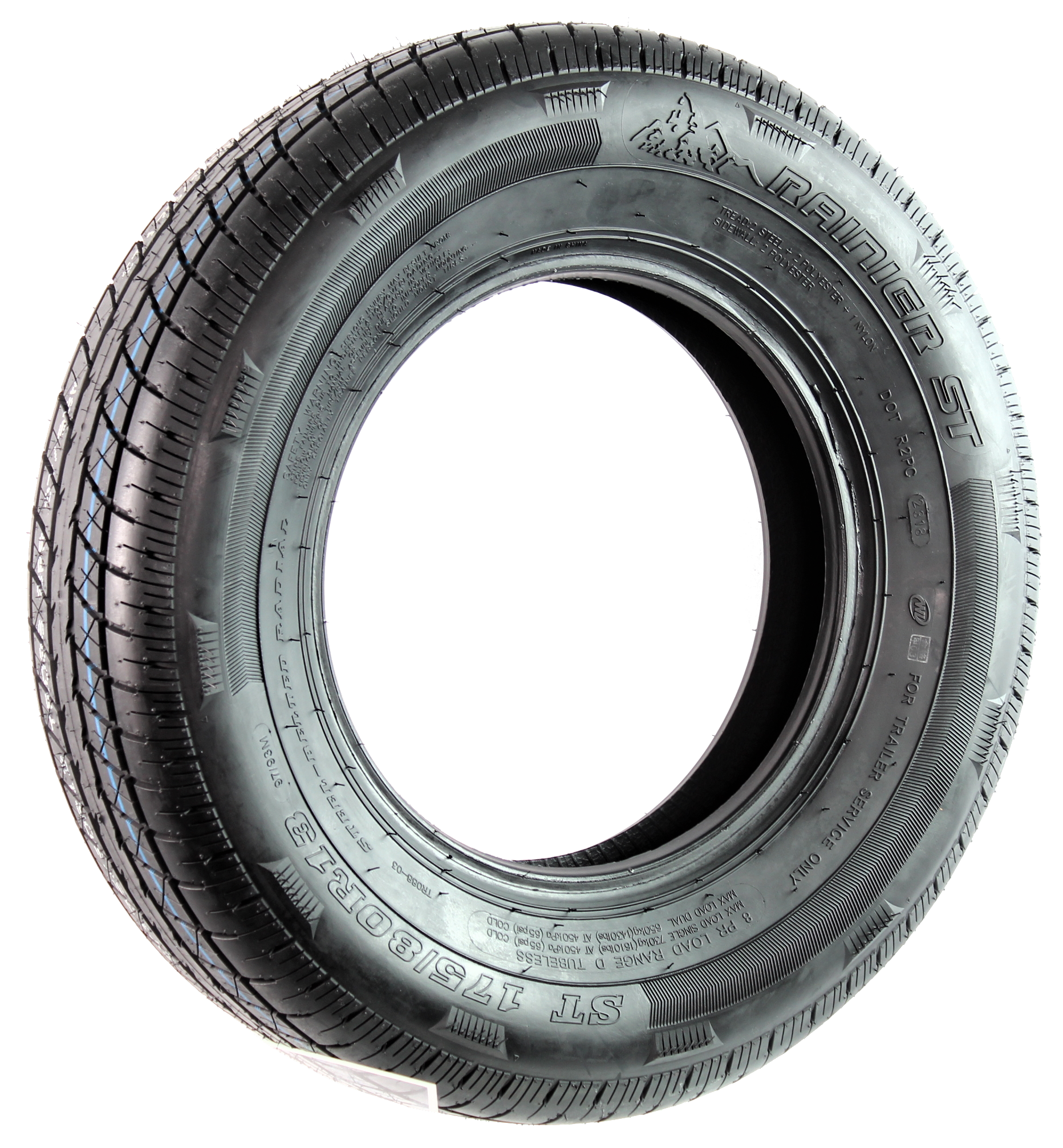 Rainier ST175/80R13 LRD 8-Ply Radial Trailer Tire Image