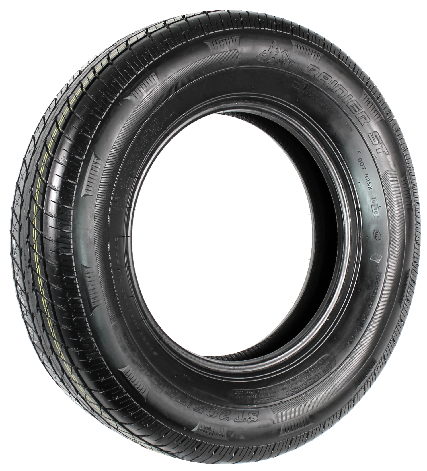 Rainier ST205/75R15 LRD 8-Ply Radial Trailer Tire Image