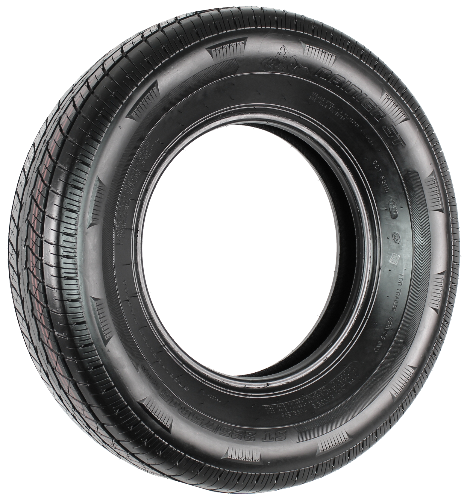 Rainier ST225/75R15 LRE 10-Ply Radial Trailer Tire Image
