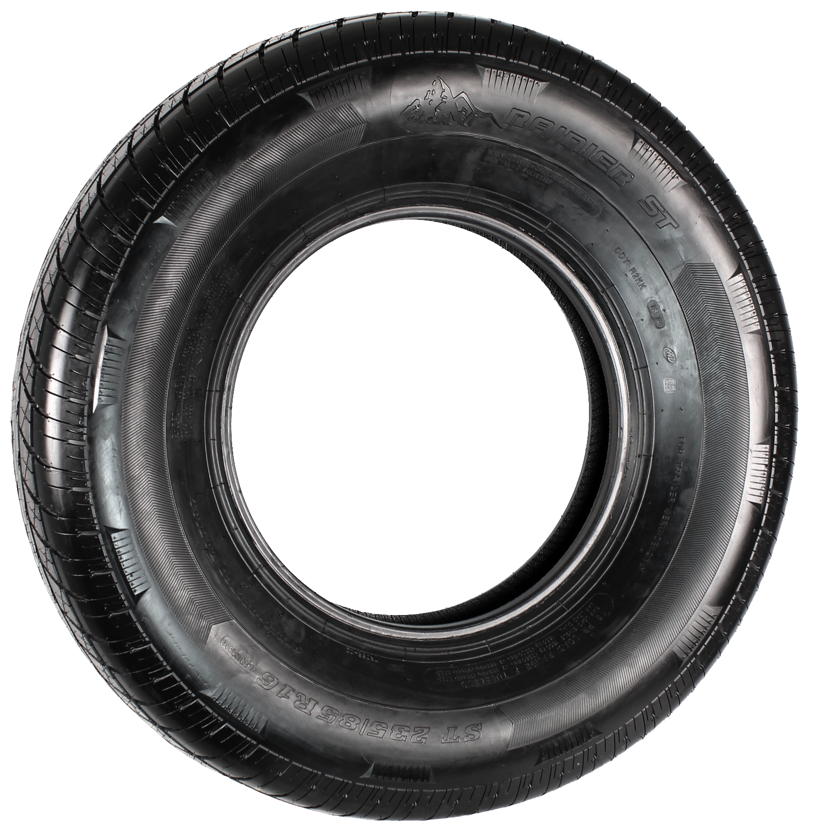 Rainier ST235/85R16 LRF 12-Ply Radial Trailer Tire Image