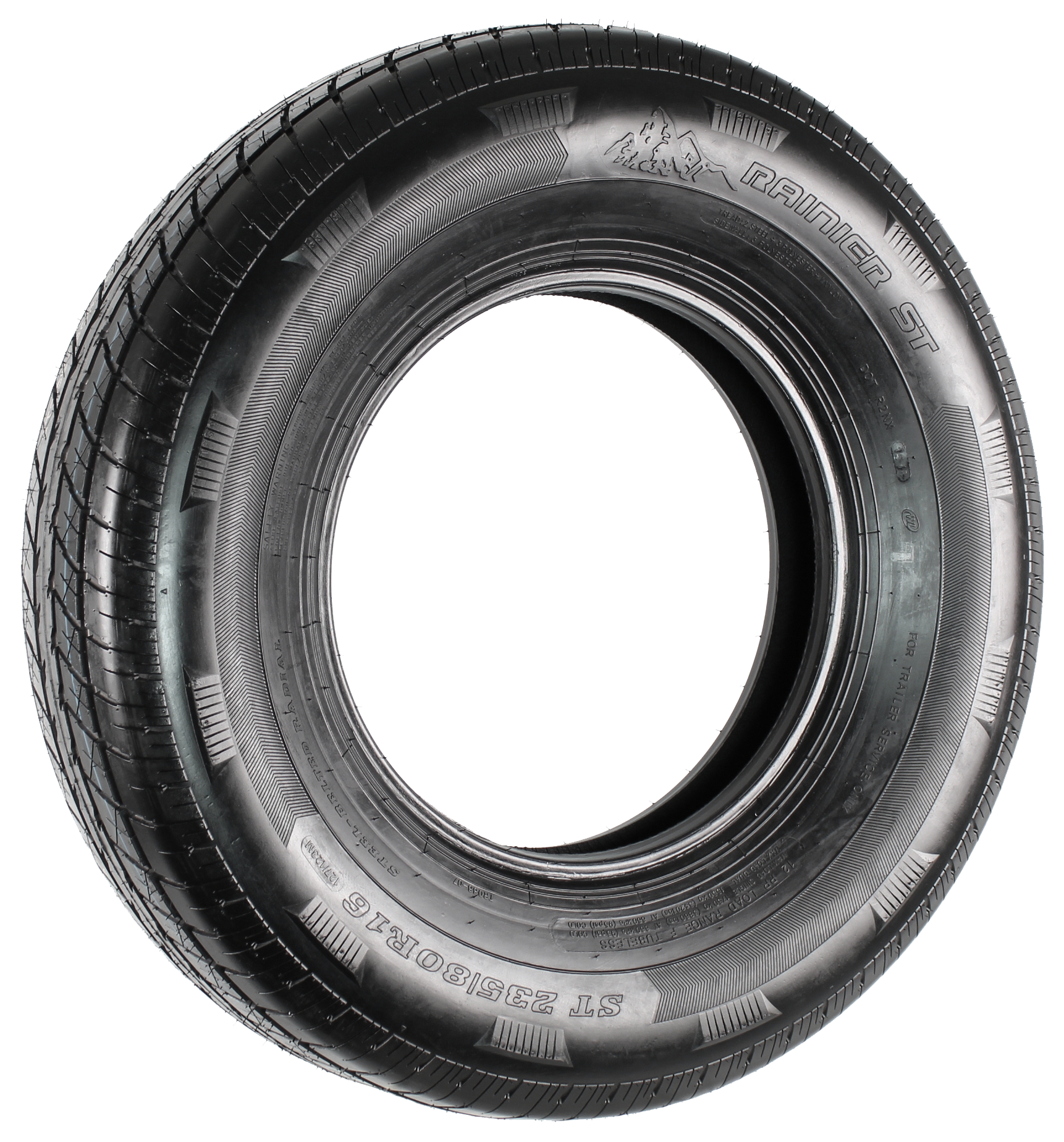 Rainier ST235/80R16 LRE 10-Ply Radial Trailer Tire Image