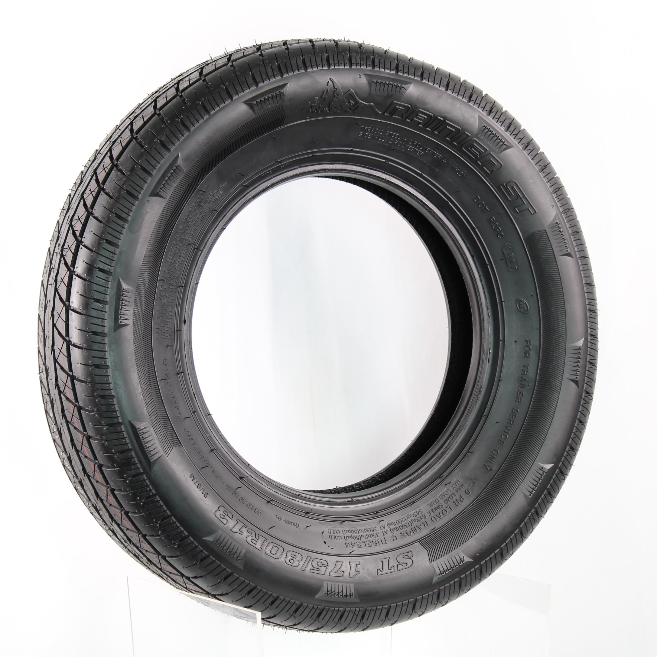 Rainier ST175/80R13 LRC 6-Ply Radial Trailer Tire Image