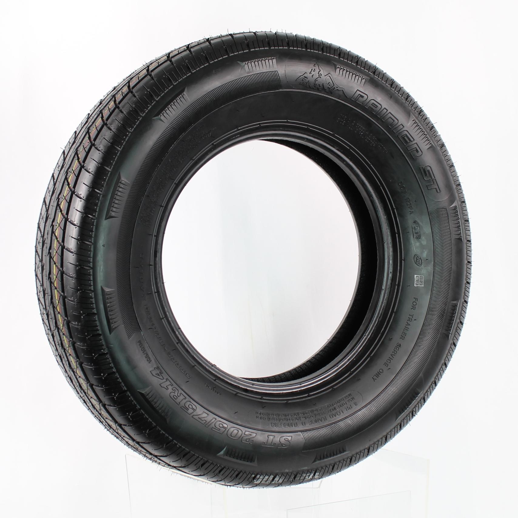 Rainier ST205/75R14 LRD 8-Ply Radial Trailer Tire Image