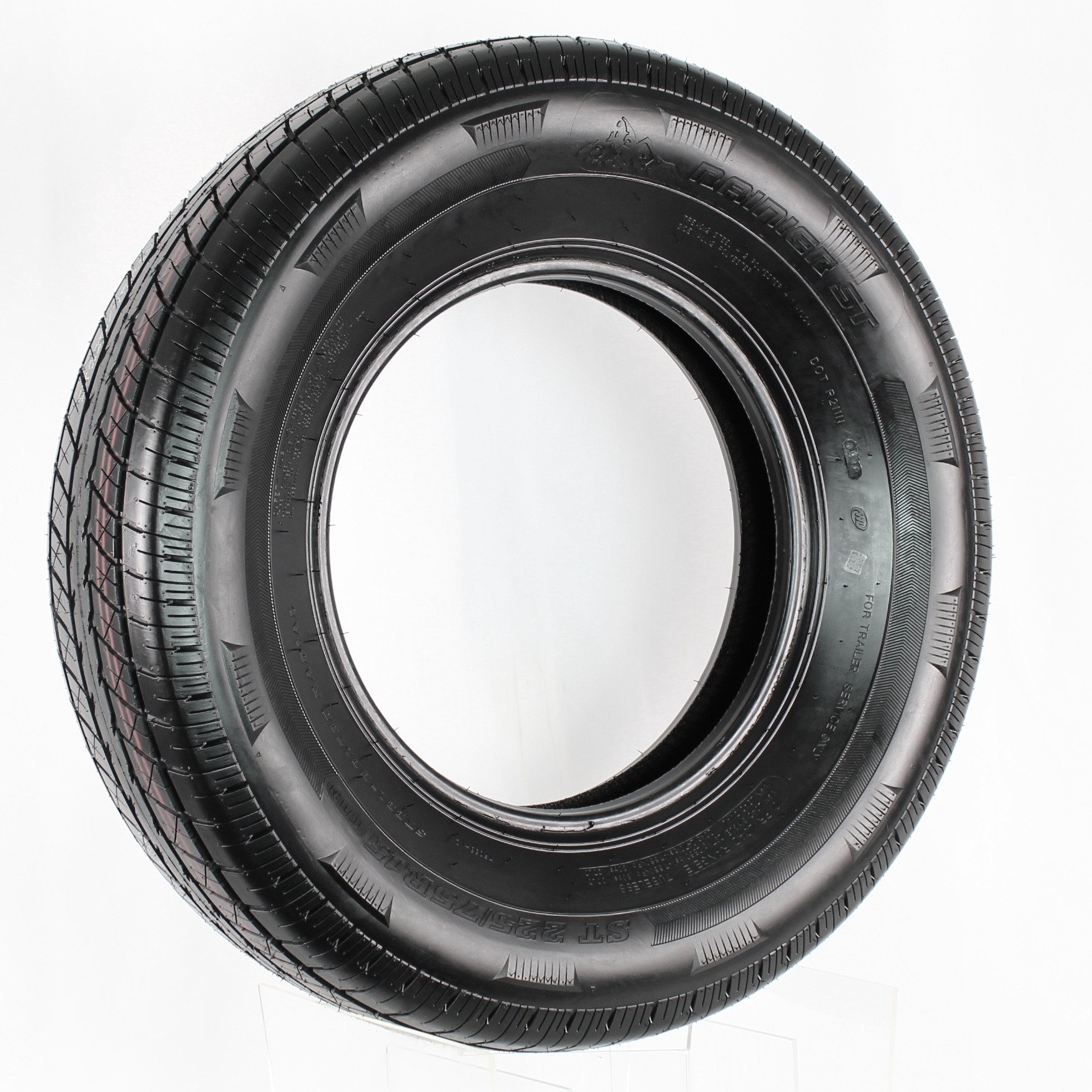 Rainier ST225/75R15 LRE 10-Ply Radial Trailer Tire Image