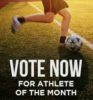 Vote for the Male & Female Athlete of the Month