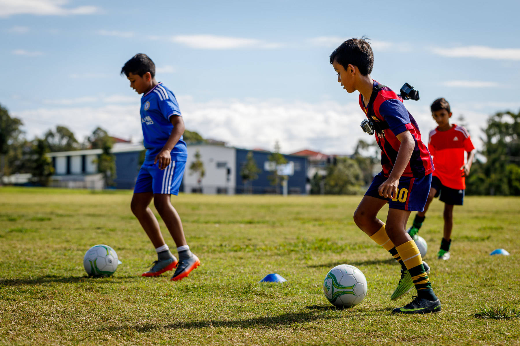 Group Football Coaching Sessions