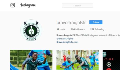 Bravos Knights FC on Instagram!
