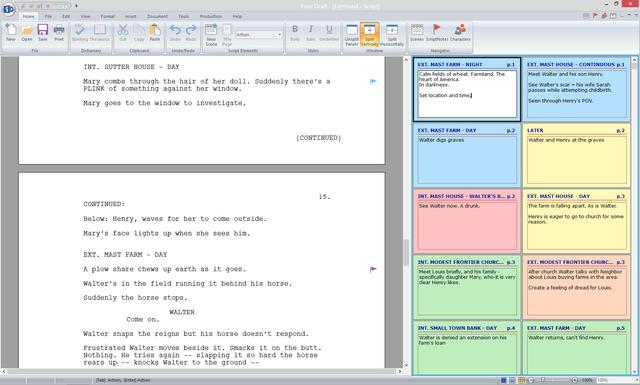 Free movie script write