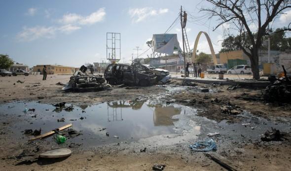 Village restaurant attack (AU-UN IST PHOTO/STUART PRICE)