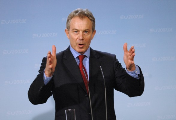 tony blair, millennium dome