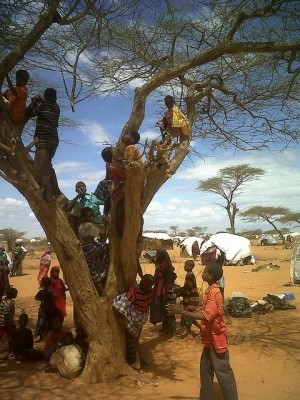 Dadaab refugee camp- Flickr/DFID