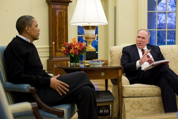 Obama and Brennan-Flickr/The White House
