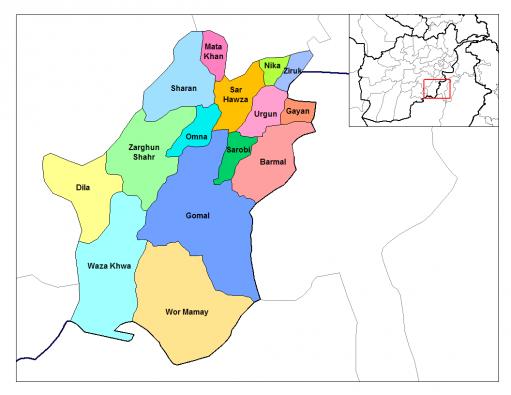 Paktika_districts