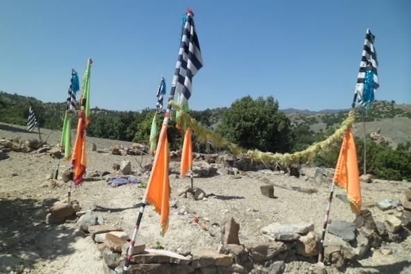Zowi Sidgi cemetery (Picture copyright Amnesty International)