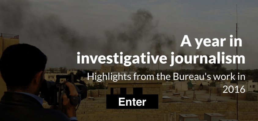 A year in investigative journalism - click here to see the highlights from the Bureau's work in 2016