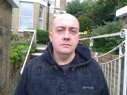 Simon Cooke outside Waxham House