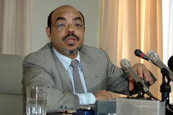 Zenawi Oct 2005 - Flickr/aheavens
