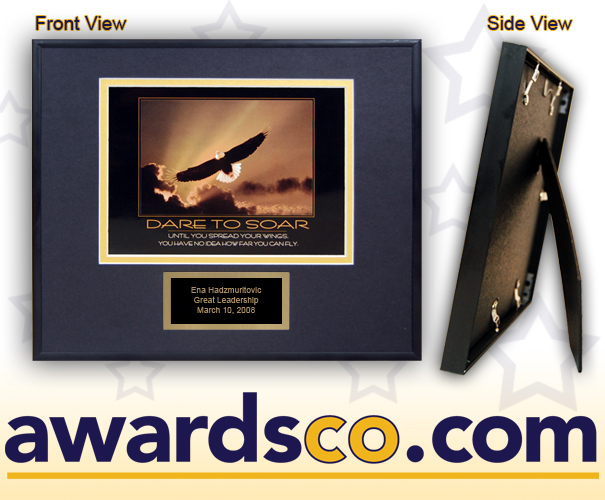Dare to Soar Eagle Plaque