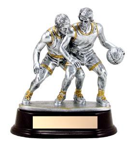 6 1/2 in Defender Basketball Trophy