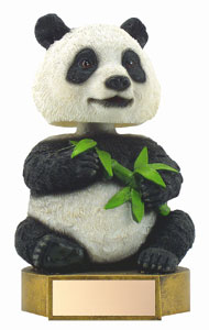 "6"" Panda Mascot Bobble Head"