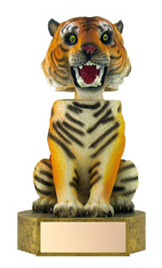 "6"" Tiger Mascot Bobble Head"