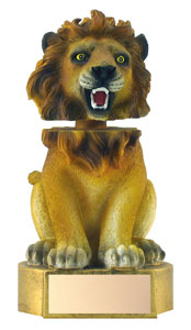 6 in Lion Mascot Bobble Head