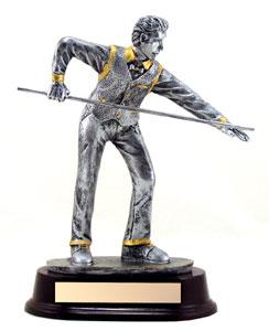 9 in Resin Sculpture Billards Trophy