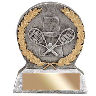 "5"" Tennis Resin Trophy"