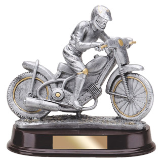 "8"" Dirt Bike Racing Resin"