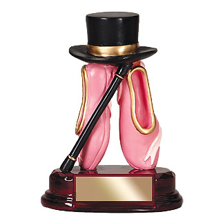 "5"" Dance Resin Trophy"