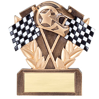 "5"" Racing Resin Trophy"