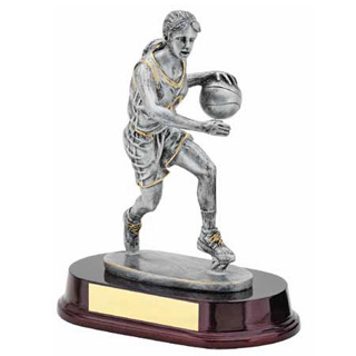 "9"" Female Basketball Resin"