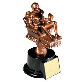 7.5 in Football Resin Trophy