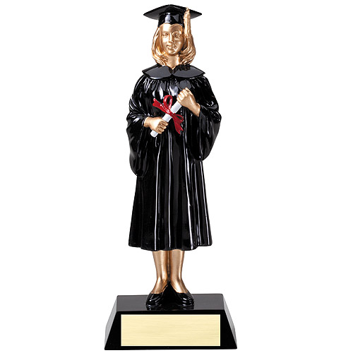 "9-1/4"" Female Graduate Resin"